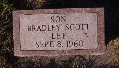 LEE, BRADLEY SCOTT - Moody County, South Dakota | BRADLEY SCOTT LEE - South Dakota Gravestone Photos