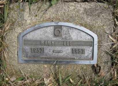 LEE, BABY - Moody County, South Dakota | BABY LEE - South Dakota Gravestone Photos