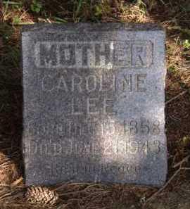 LEE, CAROLINE - Moody County, South Dakota   CAROLINE LEE - South Dakota Gravestone Photos