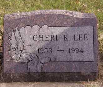 LEE, CHERI K - Moody County, South Dakota | CHERI K LEE - South Dakota Gravestone Photos