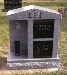 LEE, LOUISE Y - Moody County, South Dakota   LOUISE Y LEE - South Dakota Gravestone Photos