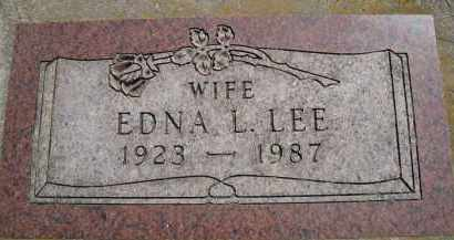 LEE, EDNA - Moody County, South Dakota | EDNA LEE - South Dakota Gravestone Photos