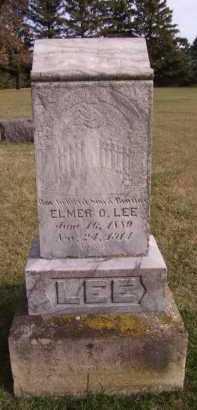 LEE, ELMER O - Moody County, South Dakota   ELMER O LEE - South Dakota Gravestone Photos