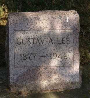 LEE, GUSTAV A - Moody County, South Dakota | GUSTAV A LEE - South Dakota Gravestone Photos
