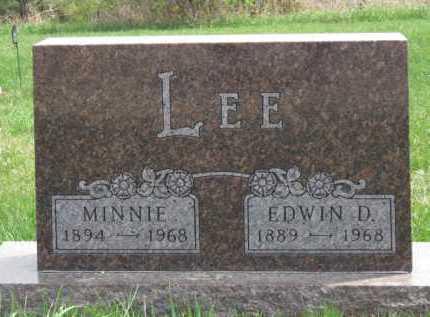 LEE, EDWIN D - Moody County, South Dakota | EDWIN D LEE - South Dakota Gravestone Photos
