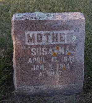 LEE, SUSANNA - Moody County, South Dakota   SUSANNA LEE - South Dakota Gravestone Photos