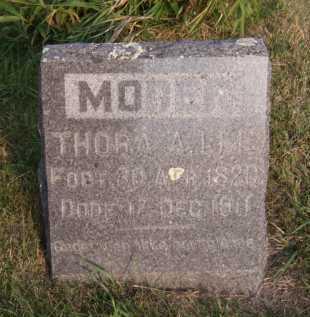 LEE, THORA A - Moody County, South Dakota   THORA A LEE - South Dakota Gravestone Photos