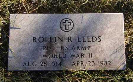 LEEDS, ROLLIN R - Moody County, South Dakota | ROLLIN R LEEDS - South Dakota Gravestone Photos