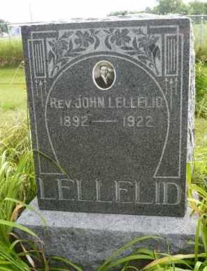 LELLELID, JOHN REV. - Moody County, South Dakota | JOHN REV. LELLELID - South Dakota Gravestone Photos