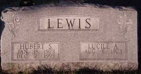LEWIS, HUBERT S - Moody County, South Dakota | HUBERT S LEWIS - South Dakota Gravestone Photos
