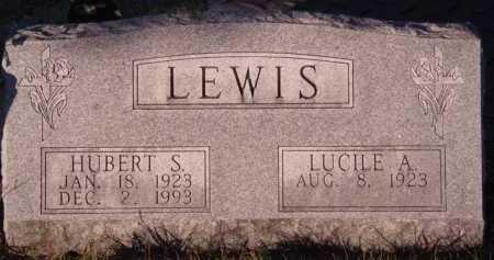 LEWIS, LUCILE A - Moody County, South Dakota | LUCILE A LEWIS - South Dakota Gravestone Photos
