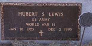 LEWIS, HUBERT S - Moody County, South Dakota | HUBERT S LEWIS - South Dakota Gravestone Photos