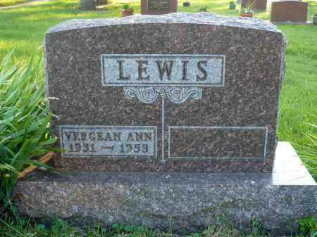 LEWIS, VERGEAN ANN - Moody County, South Dakota | VERGEAN ANN LEWIS - South Dakota Gravestone Photos