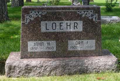 LOEHR, JOHN H. - Moody County, South Dakota | JOHN H. LOEHR - South Dakota Gravestone Photos