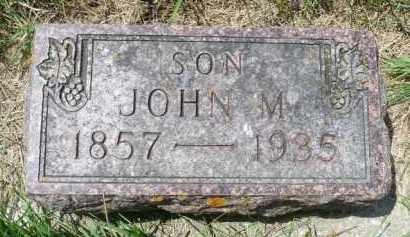 LOISEAU, JOHN M - Moody County, South Dakota   JOHN M LOISEAU - South Dakota Gravestone Photos