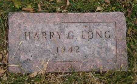 LONG, HARRY G - Moody County, South Dakota   HARRY G LONG - South Dakota Gravestone Photos