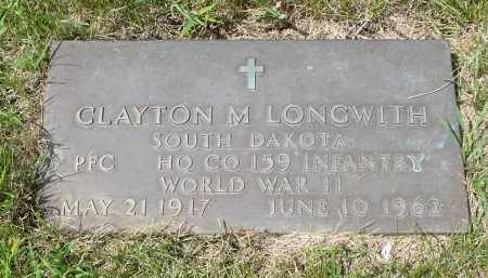 LONGWITH, CLAYTON M. - Moody County, South Dakota   CLAYTON M. LONGWITH - South Dakota Gravestone Photos