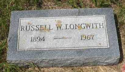 LONGWITH, RUSSELL W. - Moody County, South Dakota | RUSSELL W. LONGWITH - South Dakota Gravestone Photos