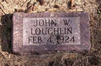 LOUGHLIN, JOHN W - Moody County, South Dakota | JOHN W LOUGHLIN - South Dakota Gravestone Photos