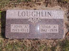 LOUGHLIN, JOHN A - Moody County, South Dakota | JOHN A LOUGHLIN - South Dakota Gravestone Photos