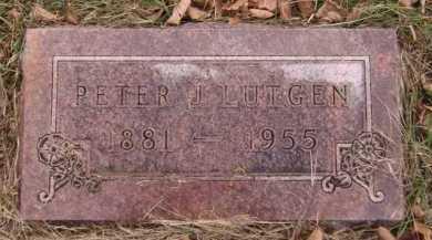 LUTGEN, PETER J - Moody County, South Dakota | PETER J LUTGEN - South Dakota Gravestone Photos