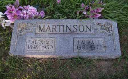 MARTINSON, LAURA E - Moody County, South Dakota | LAURA E MARTINSON - South Dakota Gravestone Photos