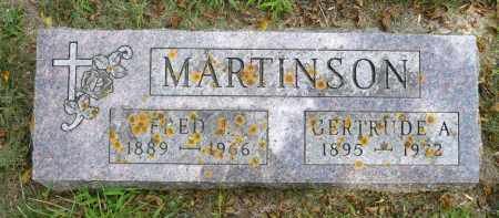 MARTINSON, GERTRUDE A. - Moody County, South Dakota | GERTRUDE A. MARTINSON - South Dakota Gravestone Photos