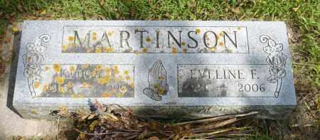 MARTINSON, EVELINE F. - Moody County, South Dakota | EVELINE F. MARTINSON - South Dakota Gravestone Photos