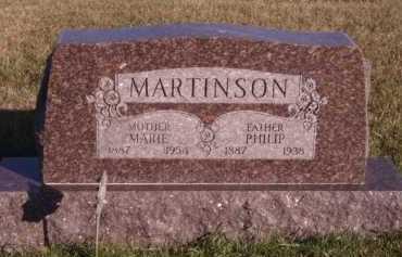 MARTINSON, MARIE - Moody County, South Dakota | MARIE MARTINSON - South Dakota Gravestone Photos