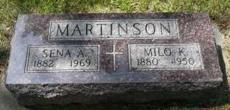 MARTINSON, MILO K. - Moody County, South Dakota | MILO K. MARTINSON - South Dakota Gravestone Photos