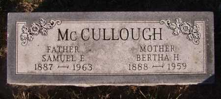 MCCULLOUGH, BERTHA H - Moody County, South Dakota | BERTHA H MCCULLOUGH - South Dakota Gravestone Photos