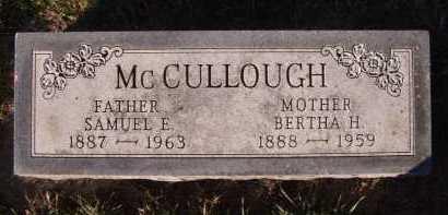 MCCULLOUGH, BERTHA H - Moody County, South Dakota   BERTHA H MCCULLOUGH - South Dakota Gravestone Photos