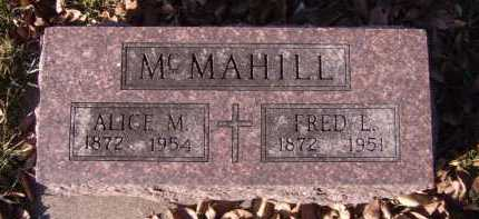 MCMAHILL, FRED L - Moody County, South Dakota | FRED L MCMAHILL - South Dakota Gravestone Photos