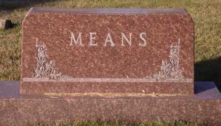 MEANS, FAMILY - Moody County, South Dakota | FAMILY MEANS - South Dakota Gravestone Photos
