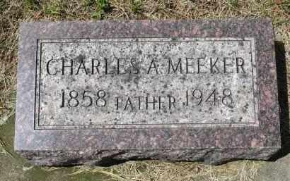MEEKER, CHARLES A. - Moody County, South Dakota | CHARLES A. MEEKER - South Dakota Gravestone Photos