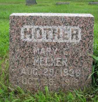 MEEKER, MARY L - Moody County, South Dakota   MARY L MEEKER - South Dakota Gravestone Photos