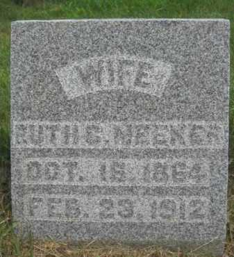MEEKER, RUTH COE - Moody County, South Dakota | RUTH COE MEEKER - South Dakota Gravestone Photos