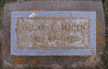MJOEN, OSCAR E - Moody County, South Dakota | OSCAR E MJOEN - South Dakota Gravestone Photos