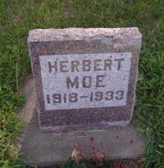 MOE, HERBERT - Moody County, South Dakota   HERBERT MOE - South Dakota Gravestone Photos