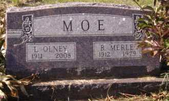 MOE, L OLNEY - Moody County, South Dakota | L OLNEY MOE - South Dakota Gravestone Photos
