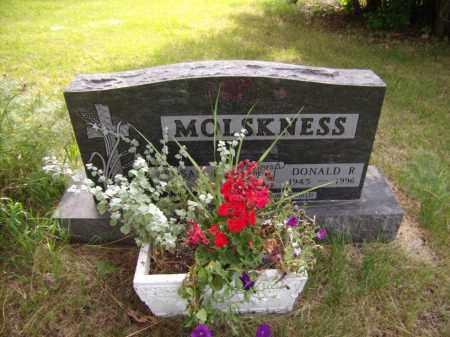 MOLSKNESS, DONALD R - Moody County, South Dakota | DONALD R MOLSKNESS - South Dakota Gravestone Photos