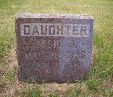 MOLSKNESS, JOSIE B. - Moody County, South Dakota   JOSIE B. MOLSKNESS - South Dakota Gravestone Photos