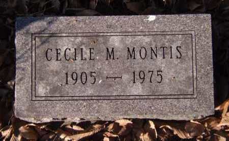 MONTIS, CECILE M - Moody County, South Dakota | CECILE M MONTIS - South Dakota Gravestone Photos