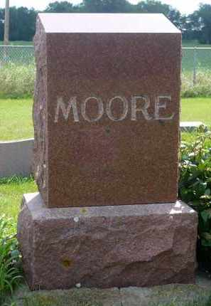 MOORE, GEORGE A. - Moody County, South Dakota | GEORGE A. MOORE - South Dakota Gravestone Photos