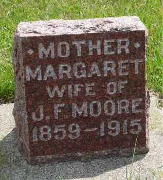 MOORE, MARGARET - Moody County, South Dakota | MARGARET MOORE - South Dakota Gravestone Photos