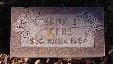 MOORE, MYRTLE R. - Moody County, South Dakota | MYRTLE R. MOORE - South Dakota Gravestone Photos