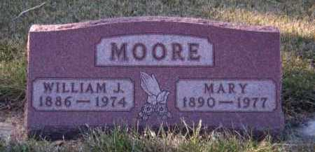 MOORE, MARY - Moody County, South Dakota | MARY MOORE - South Dakota Gravestone Photos