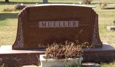 MUELLER, FAMILY - Moody County, South Dakota   FAMILY MUELLER - South Dakota Gravestone Photos