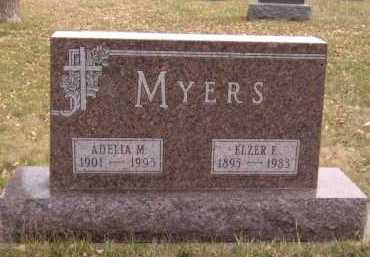 MYERS, ELZER F - Moody County, South Dakota | ELZER F MYERS - South Dakota Gravestone Photos