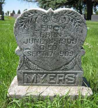 MYERS, LEROY - Moody County, South Dakota   LEROY MYERS - South Dakota Gravestone Photos